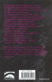 Le Fantome Sans Visage - 4ème de couverture - Format classique
