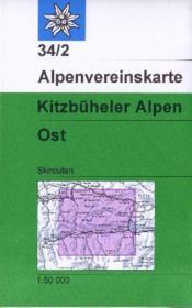 Alpenvereinskarte ; kitzbüheler Alpen ; Ost - Couverture - Format classique