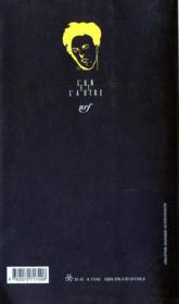 Rimbaud le fils - 4ème de couverture - Format classique