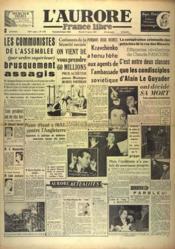 Aurore France Libre (L') N°1347 du 12/01/1949 - Couverture - Format classique