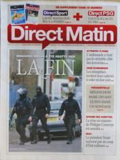 Direct Matin N°1056 du 23/03/2012 - Couverture - Format classique