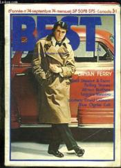 Best N° 74 . Sommaire: Bryan Ferry, Rob Stewart Et Faces, Rolling Stones, Allman Brothers, Loggins Messina... - Couverture - Format classique