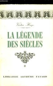 La Legende Des Siecles - Tome 2 - Couverture - Format classique