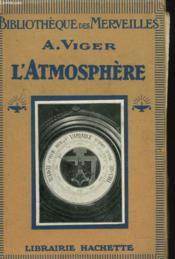 L'Atmosphere - Couverture - Format classique