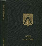 Tome 12 - Lois De L'Action - Couverture - Format classique