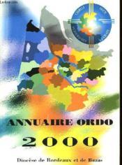 Annuaire Ordo 2000 - Couverture - Format classique