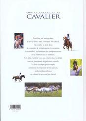 Atlas Du Cheval Et Du Cavalier - 4ème de couverture - Format classique