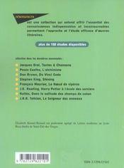 Etude Sur La Ferme Des Animaux Georges Orwell - 4ème de couverture - Format classique