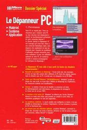 Le Dépanneur Pc - 4ème de couverture - Format classique