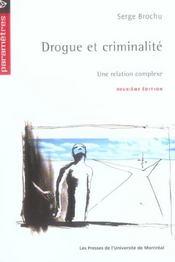 Drogue et criminalité - Intérieur - Format classique