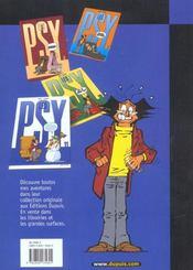 Les Psy Pirate T.9 ; On Se Calme - 4ème de couverture - Format classique