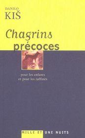Chagrins Precoces - Intérieur - Format classique