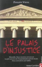 Le palais d'injustice - Intérieur - Format classique
