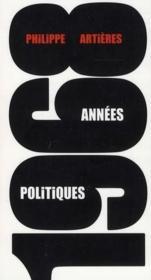 1968, années politiques - Couverture - Format classique