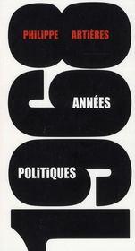 1968, années politiques - Intérieur - Format classique