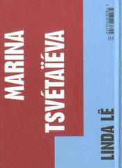 Marina Tsvetaieva - 4ème de couverture - Format classique