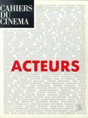 Acteurs - Couverture - Format classique