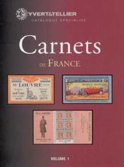Carnet de france t.1 ; 1906-1926 - Couverture - Format classique