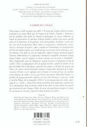 L'Ombre De L'Image - 4ème de couverture - Format classique