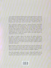 Raymond Templier ; le bijou moderne - 4ème de couverture - Format classique