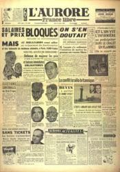 Aurore France Libre (L') N°1348 du 13/01/1949 - Couverture - Format classique