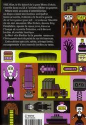 Le nazi et le barbier - 4ème de couverture - Format classique