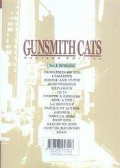 Gunsmith cats t.1 - 4ème de couverture - Format classique