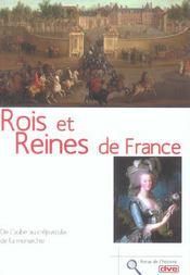 Rois Et Reines De France (Les) - Intérieur - Format classique