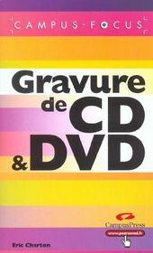 Gravure De Cd Et Dvd - Intérieur - Format classique