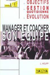 Manager Et Coacher Son Equipe - Intérieur - Format classique