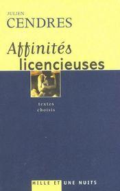 Affinites Licencieuses - Intérieur - Format classique