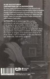 L Arthritique De La Raison Dure - 4ème de couverture - Format classique