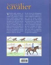Le manuel du cavalier - 4ème de couverture - Format classique