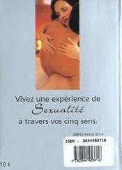 Sexe Et Sens - 4ème de couverture - Format classique