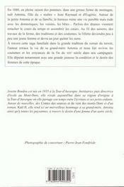 Printemps D Antonia (Le) - 4ème de couverture - Format classique