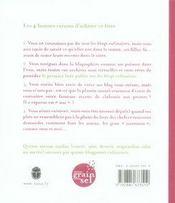 Une souris dans le potage ; recettes et récits de blogs culinaires - 4ème de couverture - Format classique