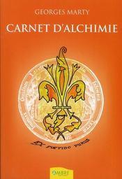 Carnet d'alchimie - Intérieur - Format classique
