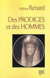Des Prodiges Et Des Hommes - Intérieur - Format classique