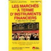Marches A Terme D'Instruments Financiers - Couverture - Format classique