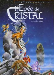 Les arcanes de l'épée de cristal - Intérieur - Format classique