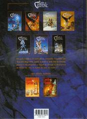 Les arcanes de l'épée de cristal - 4ème de couverture - Format classique