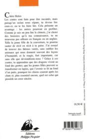 Contes chinois racontés à Helen - 4ème de couverture - Format classique
