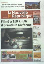 Nouvelle Republique (La) N°20472 du 17/02/2012 - Couverture - Format classique