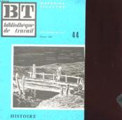 Bibliotheque De Travail N°44 - Histoire De La Route - Couverture - Format classique