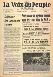 Voix Du Peuple De Touraine (La) N°1358 du 06/08/1967 - Couverture - Format classique
