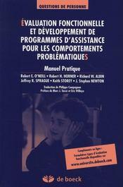 Evaluation Fonctionnelle Et Developpement De Programmes D'Assistance - Intérieur - Format classique