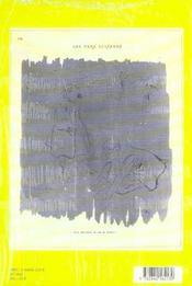 Carnets d'etudes 5 : jean-michel alberola cartes de visites,vers luisants - 4ème de couverture - Format classique