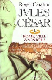 Jules Cesar T01 Rome Ville A Vendre ! - Intérieur - Format classique