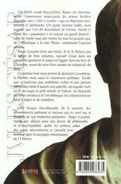 Jules Cesar T01 Rome Ville A Vendre ! - 4ème de couverture - Format classique