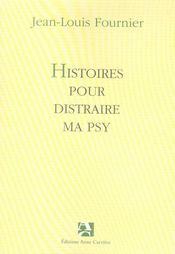 Histoires pour distraire ma psy - Intérieur - Format classique